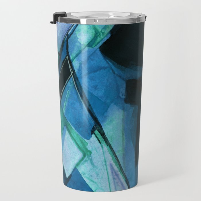 Abstraction 317I by Kathy Morton Stanion Travel Mug