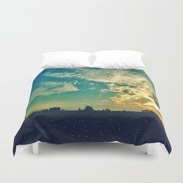 Charleston Skies Duvet Cover