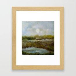 Marshy Framed Art Print