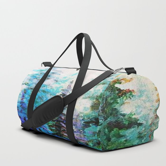 BLUE MOUNTAIN PINES LANDSCAPE Duffle Bag