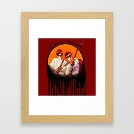 it's almost halloween Framed Art Print