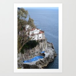costiera amalfitana Art Print