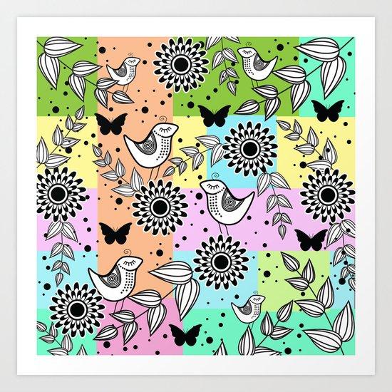 Pattern S Art Print