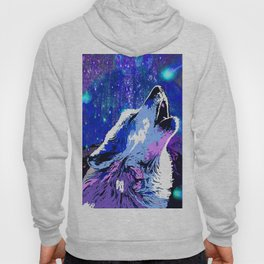 WOLF MOON AND SHOOTING STARS Hoody