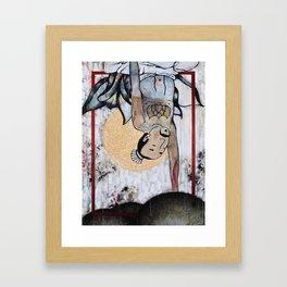 Handstand Framed Art Print