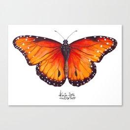 Sunset Fireflies Canvas Print