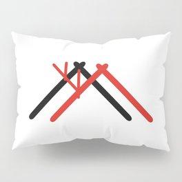 Norge hytte Pillow Sham