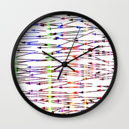 right to left Wall Clock