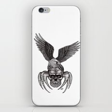 Spider-Skull and Eagle iPhone & iPod Skin