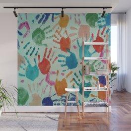 Imprints Wall Mural