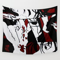 manga Wall Tapestries featuring Grafitti Manga by Fine2art