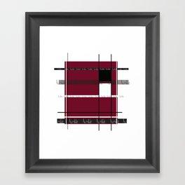 Be Humble. Framed Art Print