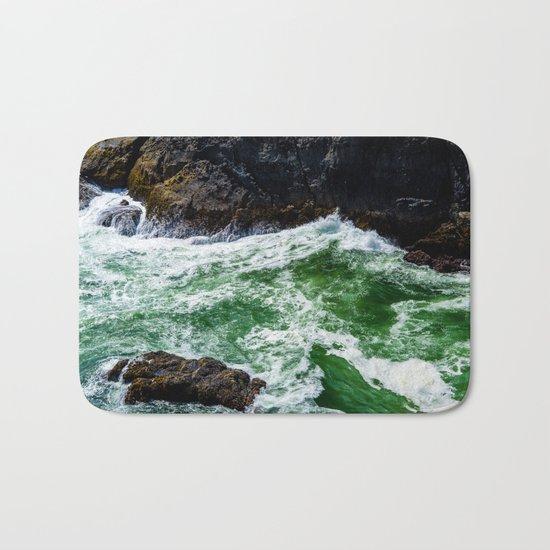 Emerald Sea Foam Bath Mat