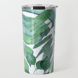Tropical  Leaves Travel Mug