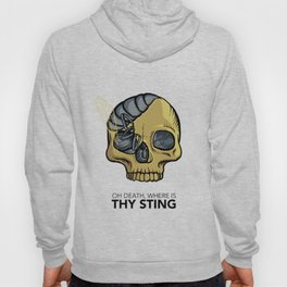#1 Oh Death, Where Is Thy Sting Hoody