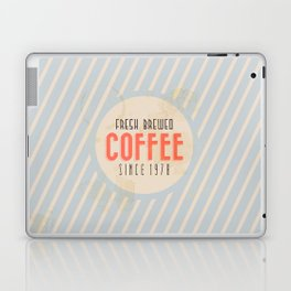 Fresh Brewed Coffee Laptop & iPad Skin