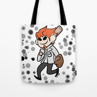 leon Tote Bags featuring Leon by dartty