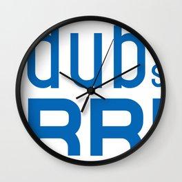 Golden State Warrior Curry design  Wall Clock