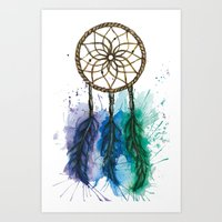 Lucid Dreams Art Print