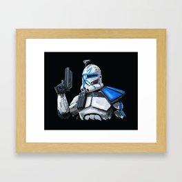 Cpt Rex Framed Art Print