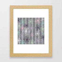 Flower Play Framed Art Print