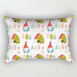 Christmas gnome Rectangular Pillow