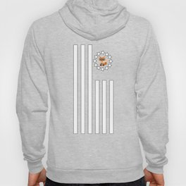 Fox Nerd - Flag Hoody