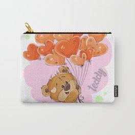 Cute Teddy Carry-All Pouch