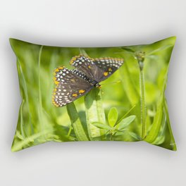 Pretty Butterfly Rectangular Pillow