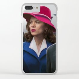 Agent Carter Clear iPhone Case