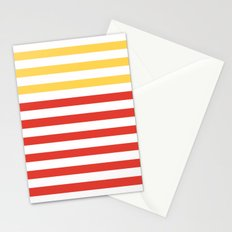 POPPY STRIPES Stationery Cards