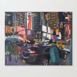 Downtown Flow Canvas Print
