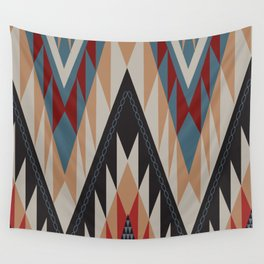 American Native Pattern No. 11 Wall Tapestry