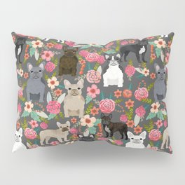 French Bulldog must have florals gifts dog breed pet lover frenchies forever Pillow Sham