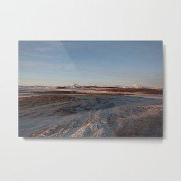 Iceland Glacier Moonscape II Metal Print