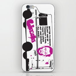 Four Score and Seven iPhone Skin