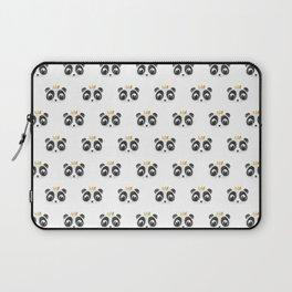 Panda King [Pattern] Laptop Sleeve