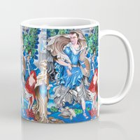 sam smith Mugs featuring Blue Fairy, Sam Fan Art by Annette Jimerson