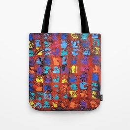 Abstract - The Truth in the Ashes Tote Bag