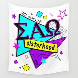 20 years of sisterhood Wall Tapestry