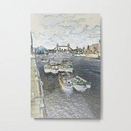 River Thames art Metal Print