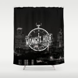 The Midnight Hour Shower Curtain