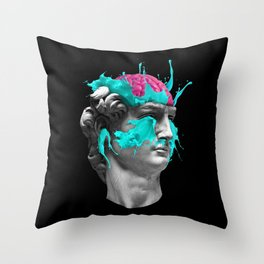 Dave Brain Throw Pillow