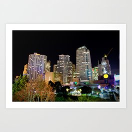 Into The Night Art Print
