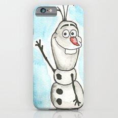 Watercolor Olaf Slim Case iPhone 6s