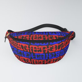 Mysterious Symbols Fanny Pack