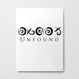 Unfound Metal Print
