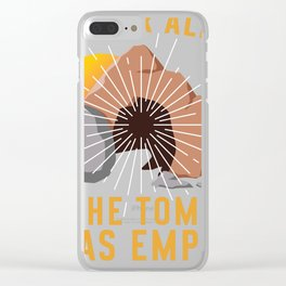 Christian  Spoiler Alert Tomb Was Empty Easter Gift design Clear iPhone Case