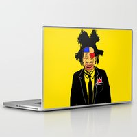 basquiat Laptop & iPad Skins featuring Jean Michelle Basquiat by CultureCloth