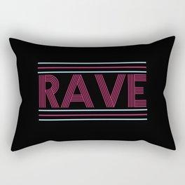 rave prism logo Rectangular Pillow